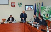 Zmiany na stanowisku Skarbnika i Sekretarza Powiatu Oleckiego