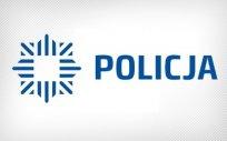 Logo Policji, tj. wzór odznaki policyjnej, gwiazdy ośmioramiennej, z napisem policja