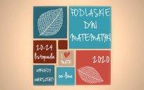 Plakat Podlaskich Dni Matematyki, 20-24.11.2020 r.