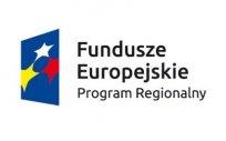 Znak Funduszy Europejskich z napisem Fundusze Europejskie Program Regionalny