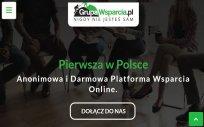 Anonimowa i darmowa platforma wsparcia online GrupaWsparcia.pl nigdy nie jesteś sam