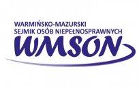 Logo Warmińsko-Mazurskiego Sejmiku Osób Niepełnosprawnych WMSON
