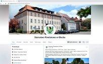Profil Starostwa Powiatowego w Olecku na Facebooku