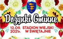 Grafika Dożynek Gminnych w Świętajnie, 12.09.2021 r., stadion wiejski w Świętajnie