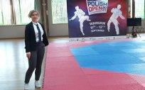 Justyna Miszczak, sędzia na zawodach Taekwondo Olimpijskiego Polish Open 2021; turniej z cyklu Pucharu Świata