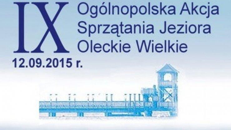 IX Ogólnopolska Akcja Sprzątania Jeziora Oleckie Wielkie