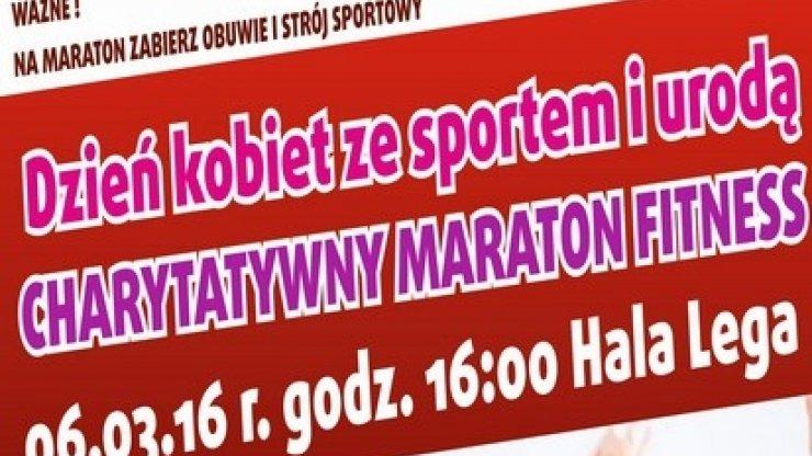Ze sportem i urodą – Charytatywny Maraton Fitness