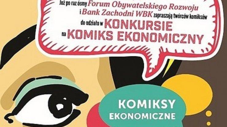Wakacyjny konkurs na komiks ekonomiczny