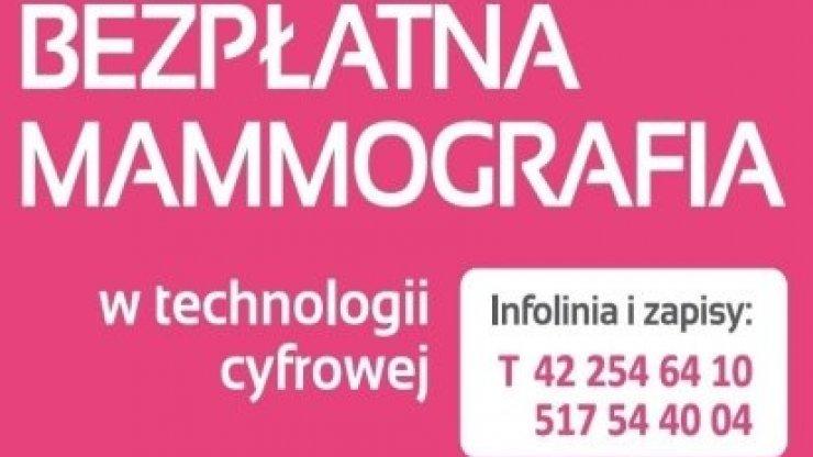 Bezpłatnie Badanie Mammograficzne