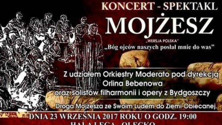 """Spektakl """"Mojżesz"""""""