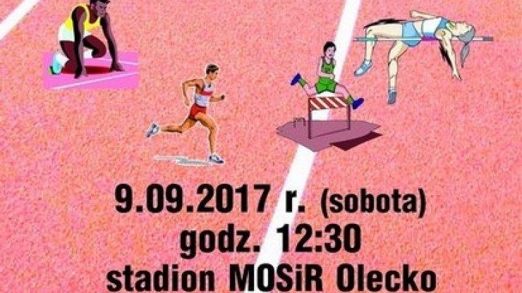 Międzywojewódzkie Mistrzostwa U16 w lekkiej atletyce w Olecku