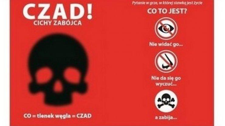 Czad – cichy zabójca – akcja informacyjna