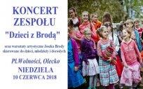 """Warsztaty artystyczne z zespołem muzycznym """"Dzieci z Brodą"""""""